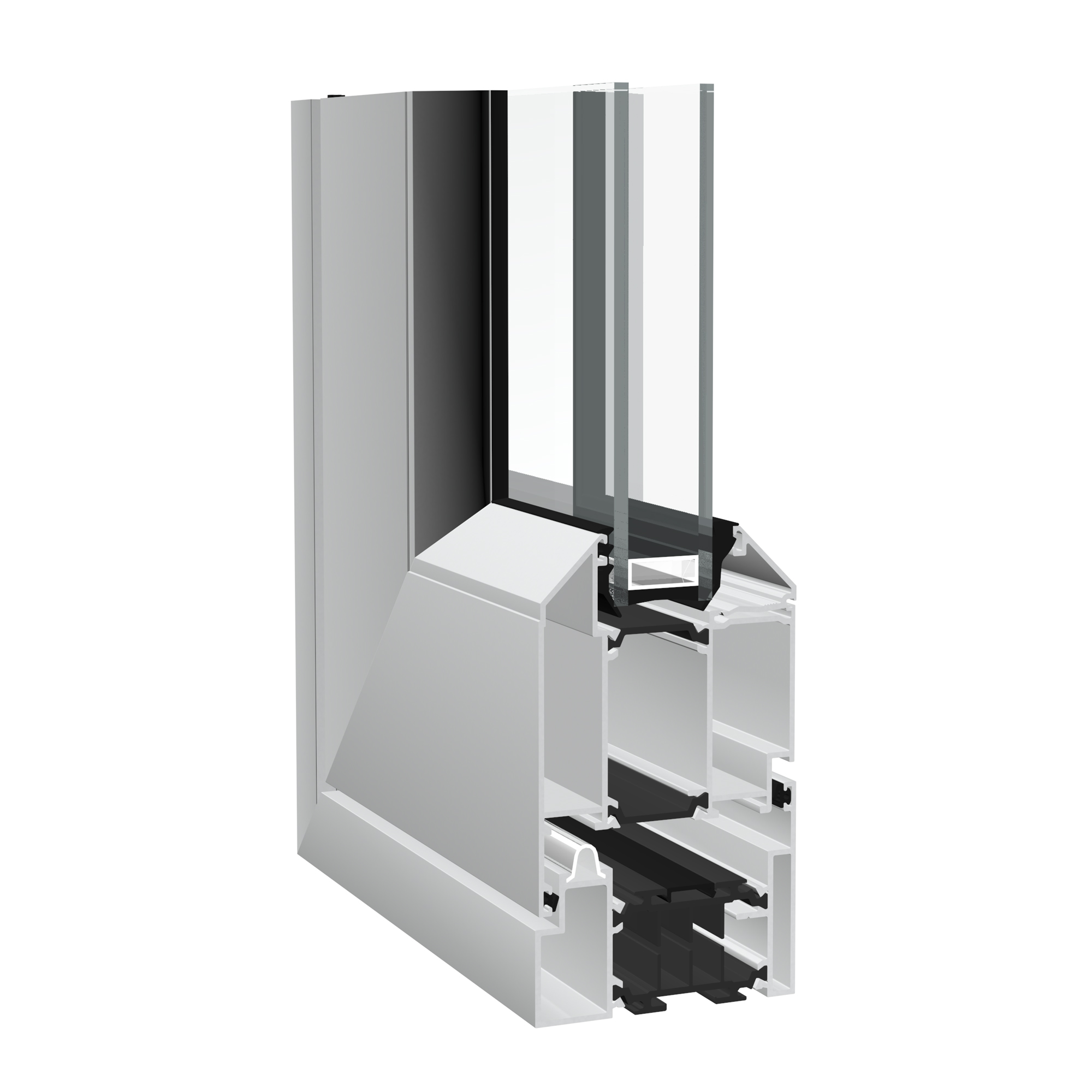 Crown aluminium sliding/folding door from Sapa