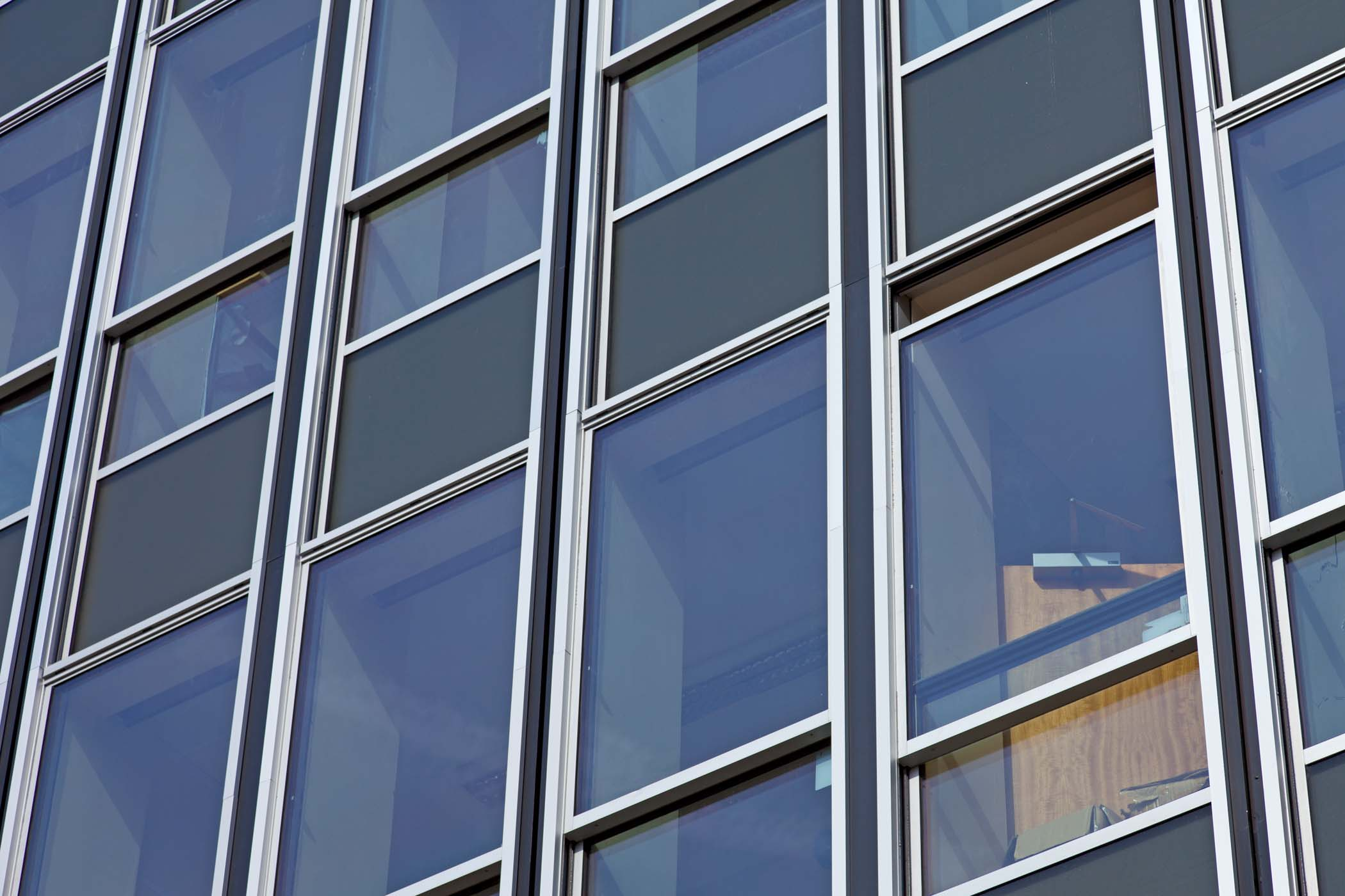 Sapa Dualslide window system on a high-rise project